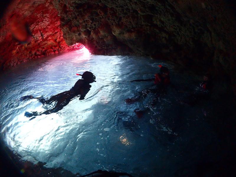 参加時間次第では空いている洞窟にいけます。