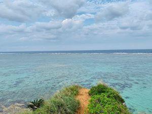 恩納村の綺麗な海
