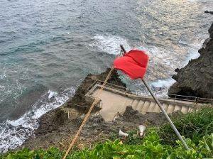 真栄田岬遊泳について