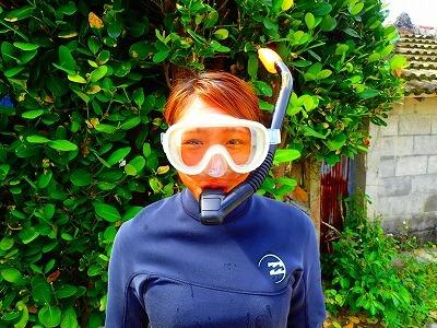 体験ダイビング水中メガネについて