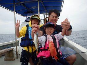 家族で釣りを楽しめる