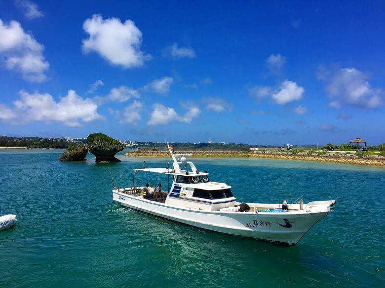 1日離島フィッシング 船1隻貸し切り 泳がせ釣り3