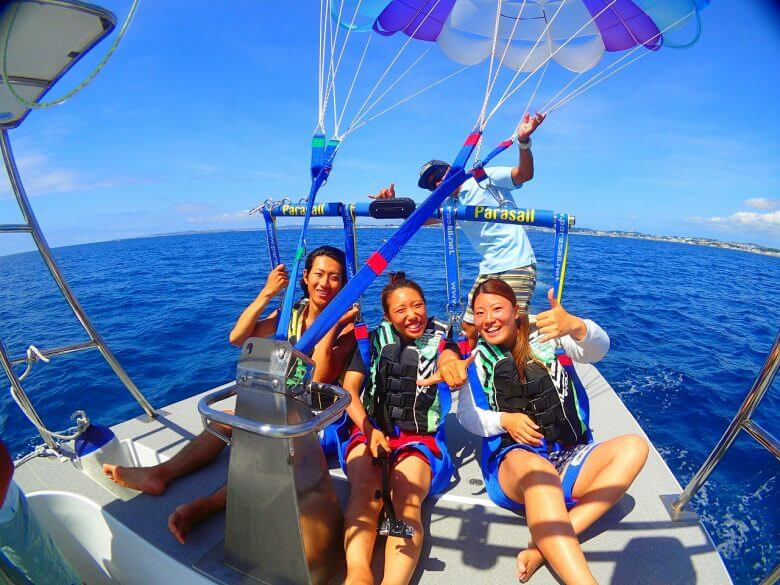 毎日5組限定!青の洞窟ボート体験ダイビング&パラセーリング11