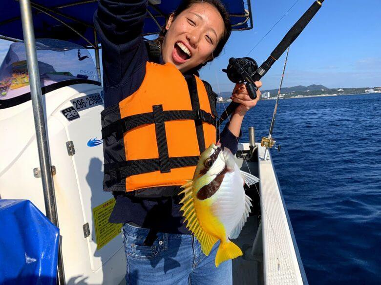 釣りが初めてでも参加できます