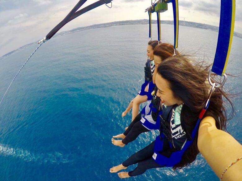 毎日5組限定!青の洞窟ボート体験ダイビング&パラセーリング15