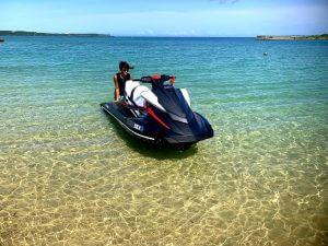 沖縄の水上バイクが人気