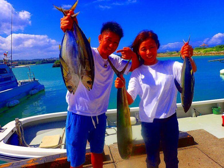 【船1隻完全貸し切り】トローリングで大物狙い釣り(マグロ・カツオ・シーラ)