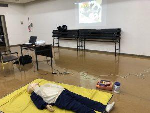 AED講習 心停止要救助者人形