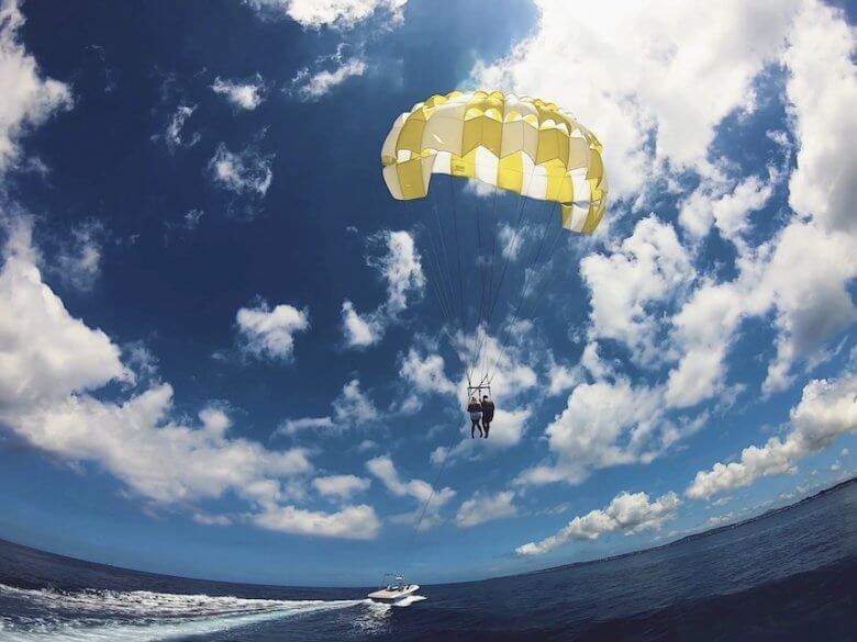 毎日5組限定!青の洞窟ボート体験ダイビング&パラセーリング9