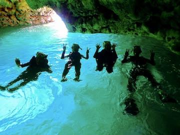 青の洞窟ツアー無料特典