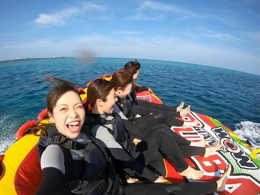 絶叫ウォータートイは沖縄アクティビティで人気です。