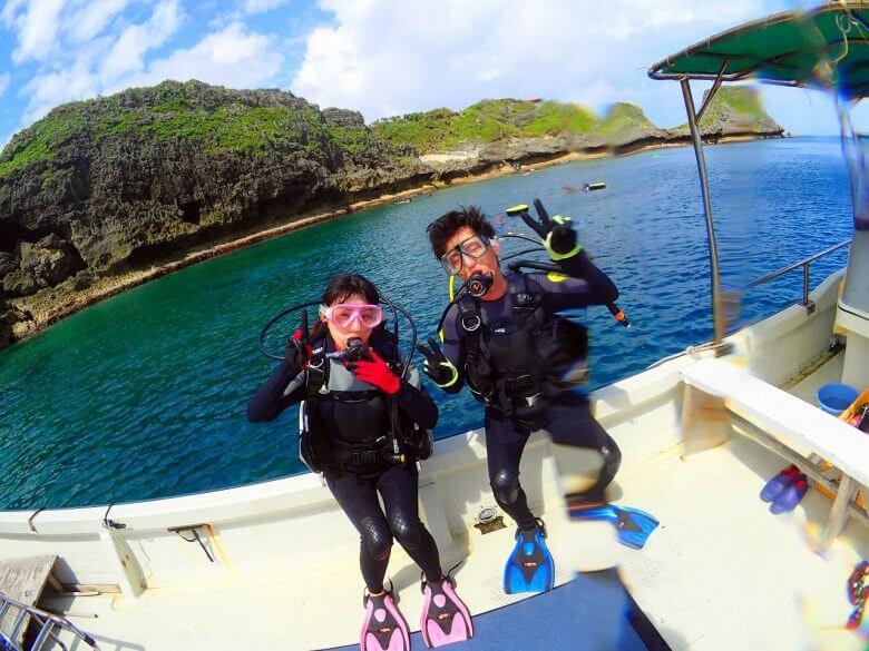 沖縄贅沢セット♪ パラセーリング&青の洞窟ダイビング&絶叫ウォータートイ3