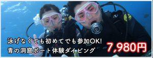 青の洞窟ダイビング コース詳細