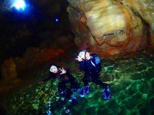 青の洞窟最深部