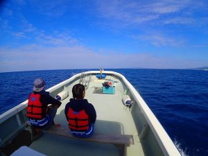 貸し切りボート釣り