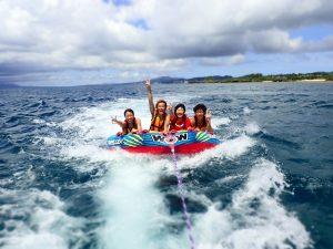 沖縄 マリンアクティビティが大人気