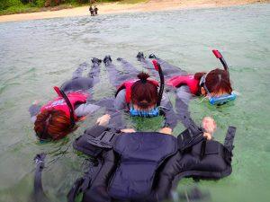 沖縄 シュノーケリング 泳げなくても大丈夫