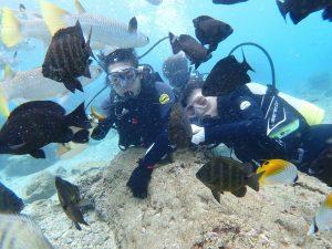 沖縄 ダイビング 記念写真