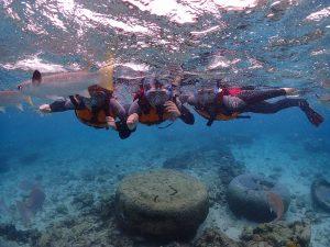 沖縄 女子旅 シュノーケリング